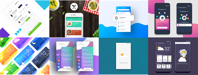 Best android design examples in 2018