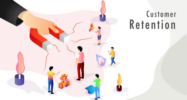 Customer retention concept