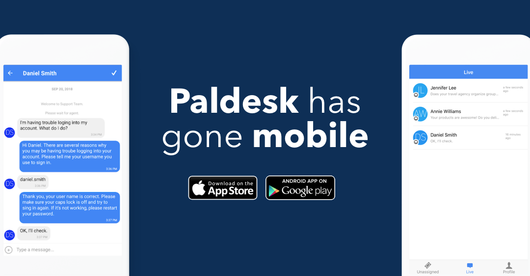 Paldesk – iOS And Android App Released
