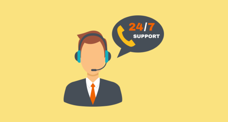 Offering 24/7 support positively affects customer satisfaction