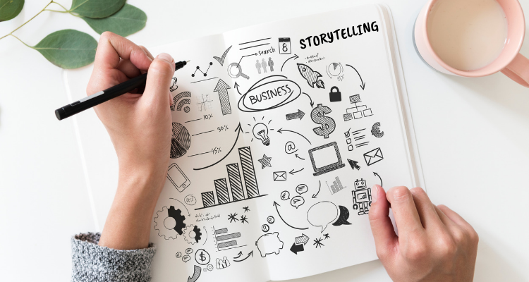 Let your content tell a story