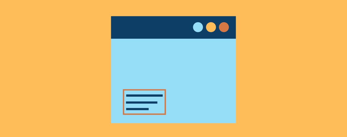 Blue tab icon