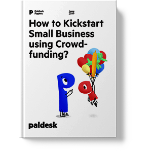 "Ebook ""How to kickstart small business using crowdfunding"""