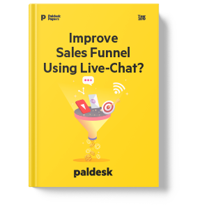 "Ebook ""Improve sales funnel using Live-Chat"""