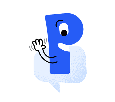 Live chat custom sticker: Hopeful Pal