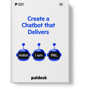 Chatbots that deliver paldesk ebook
