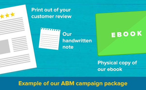 Personalized ABM marketing example