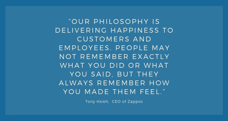 Tony Hsieh company philosophy