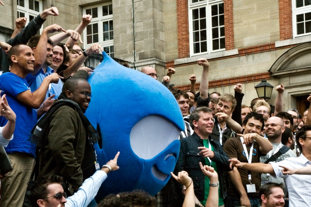 The Drupal community is large and dedicated to improving the platform