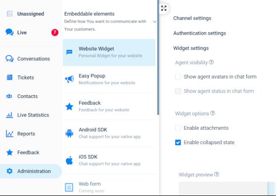 New Feature - Minimize Widget | Paldesk