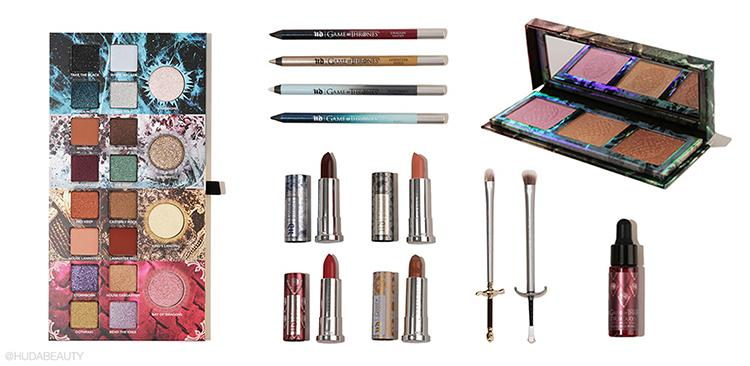 Urban Decay launched a GOT beauty makeup line