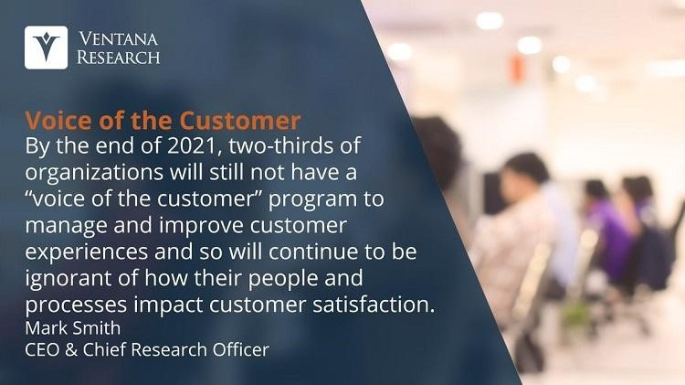 Voice of customer Ventana Research