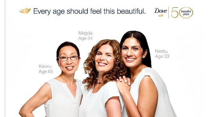 Example of Dove brand voice