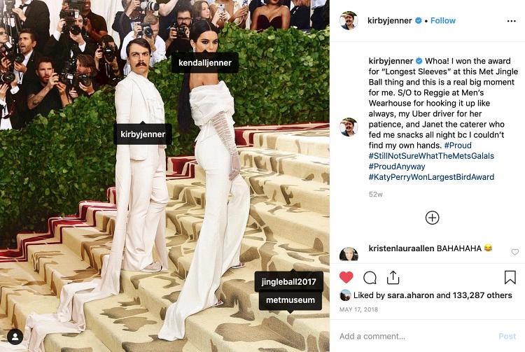 Instagram buisness kirby janner