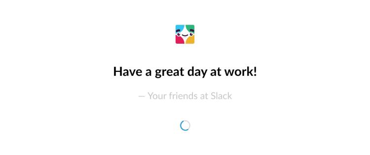 Example of Slack brand voice