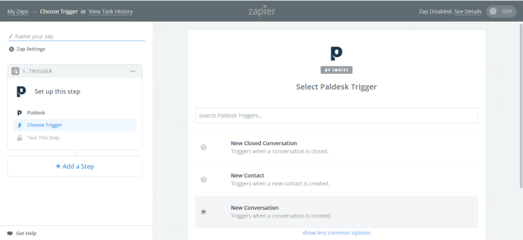 how to integrate Mailchimp with Paldesk