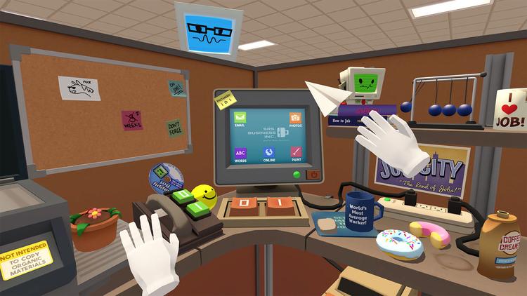 Virtual reality jobs Vr simulator job