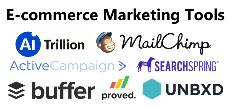 E-commerce marketing tools