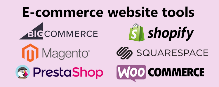 E-commerce website tools