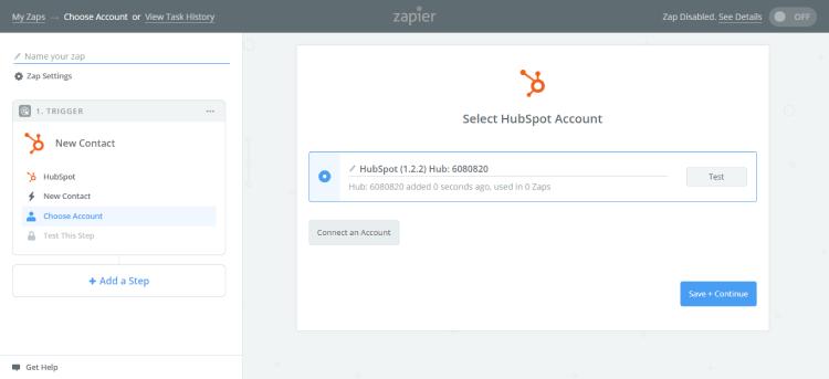 Hubspot integration with paldesk
