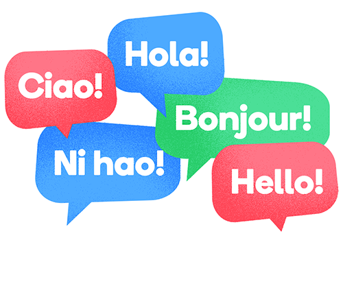 Multilanguage live chat in customer support