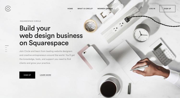 ecommerce website builders squarespace
