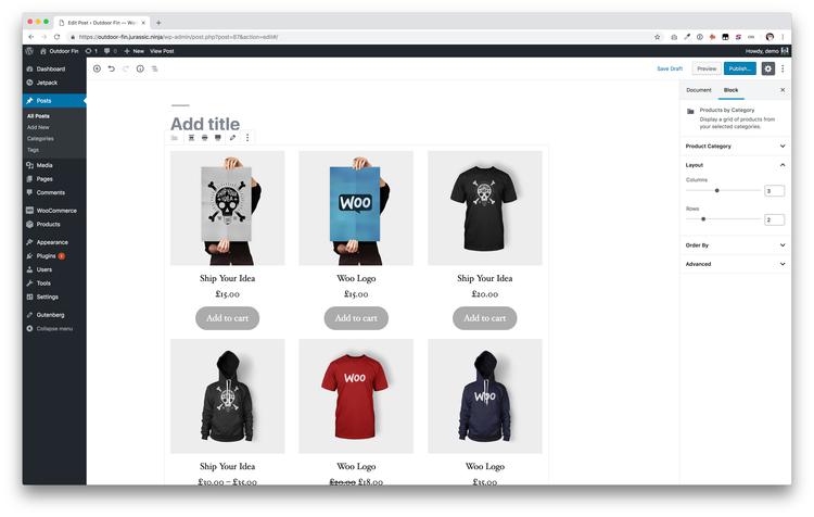 ecommerce website builders woocommerce