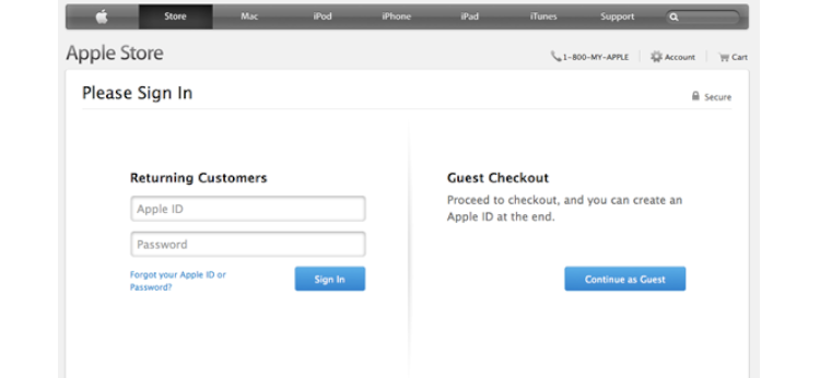 Omnichannel retail apple