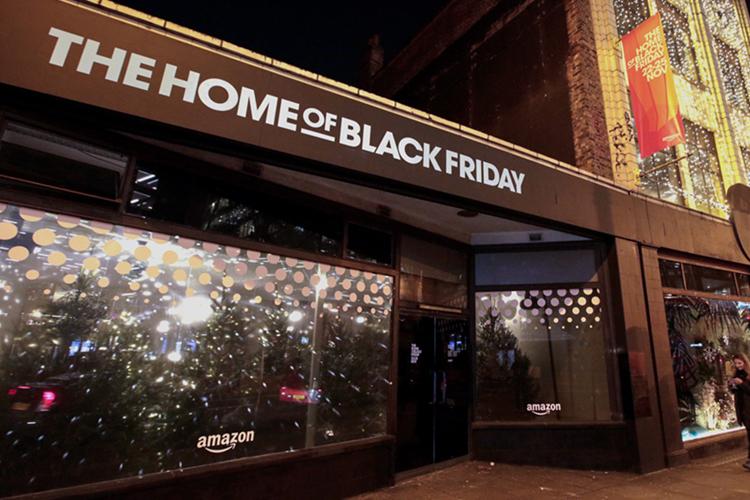 Amazon pop-up shop