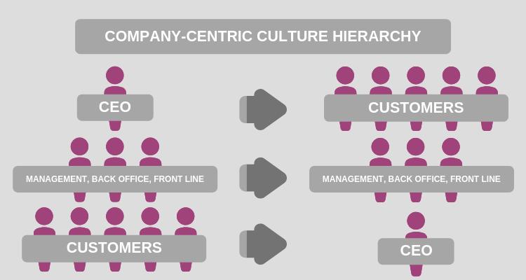 Company centric culture hierarchy