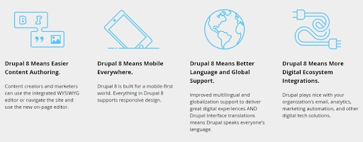 drupal user experience benefits