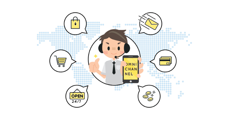Customer service evolution omnichannel
