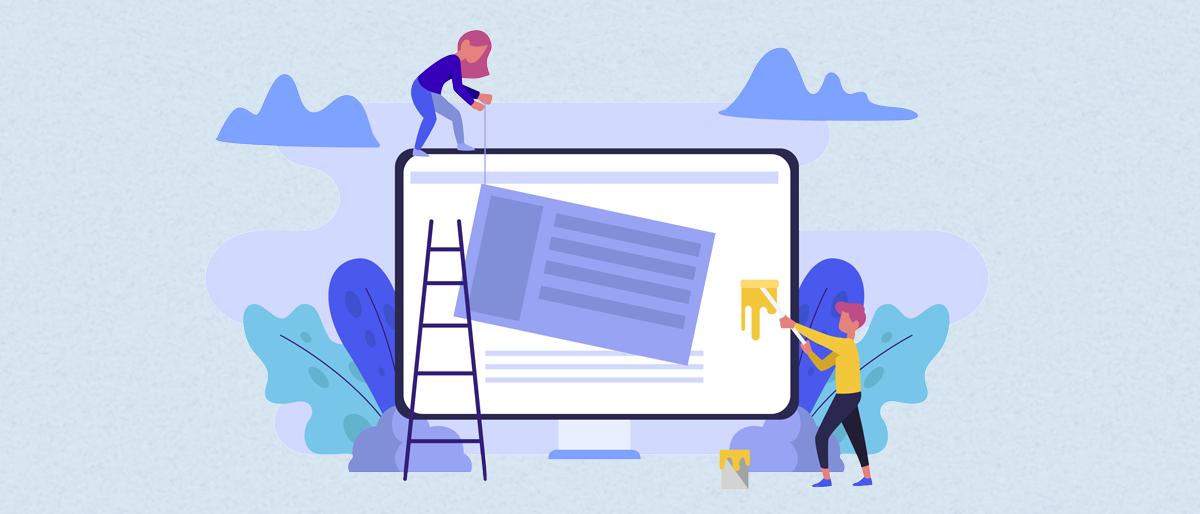Keep potential customers on website longer