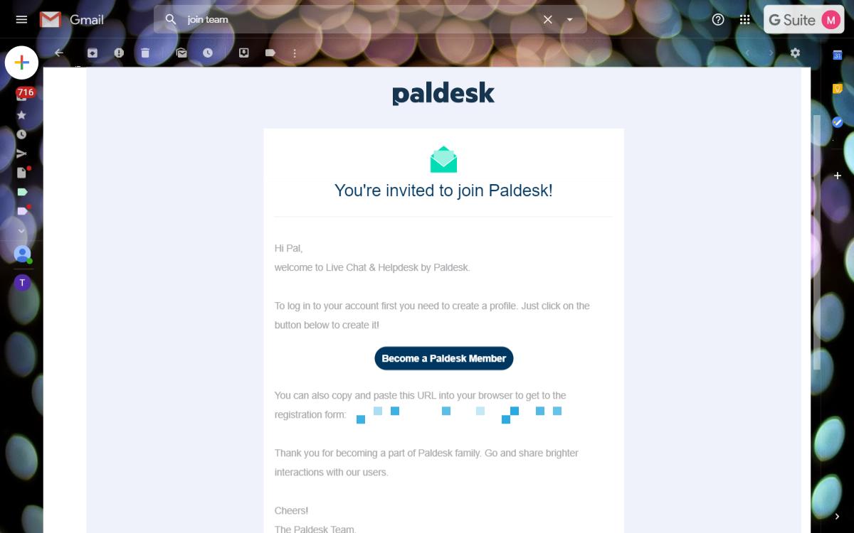 agent email invite