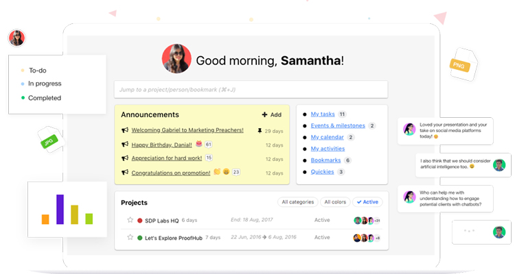 Collaboration Tool Proofhub