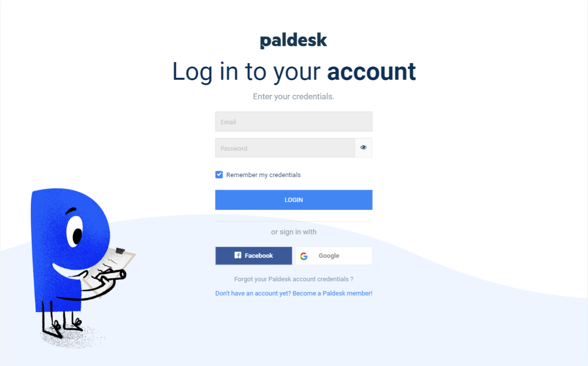 Invite agent with existing account