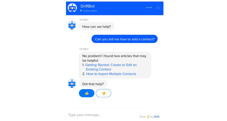 Keyword-based chatbots