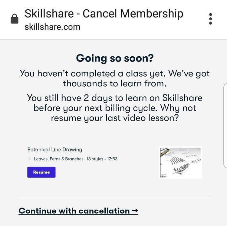 Skillshare system