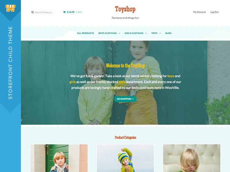 Toyshop - best Woocommerce themes