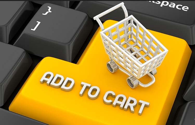 The shopping cart feature