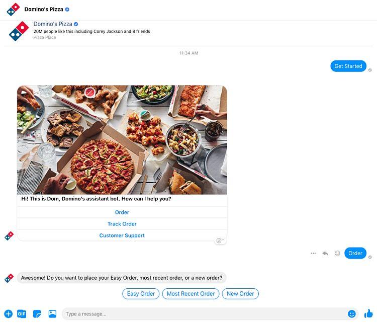 Dominos social media strategy