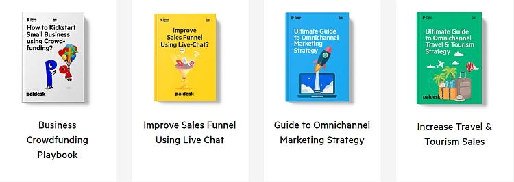 Paldesk offers a range of eBooks