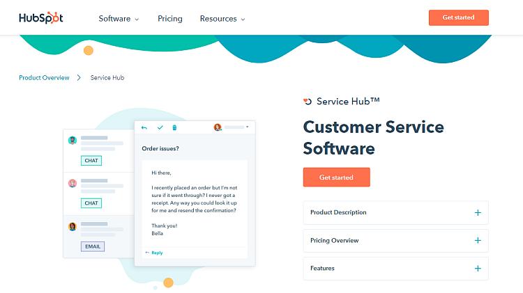Customer experience tools - HubSpot