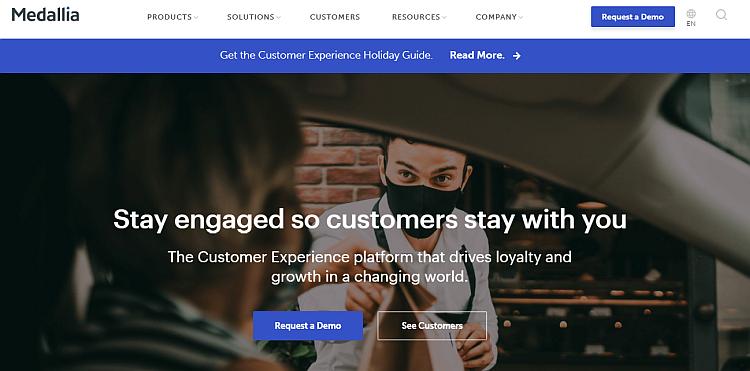 Customer experience tools - Medallia