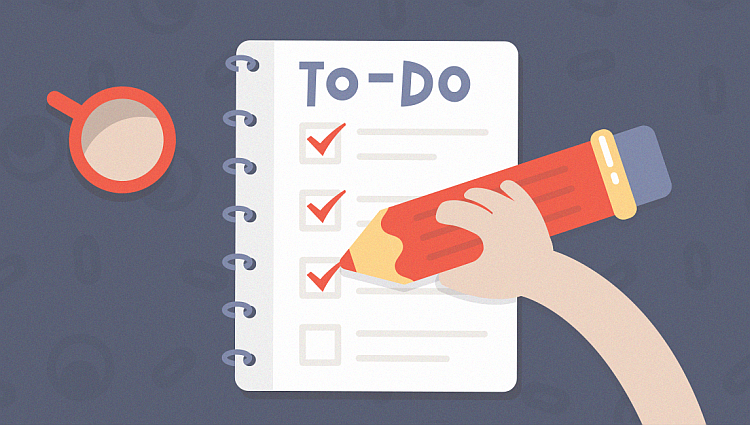 Resource planning - make a to-do list