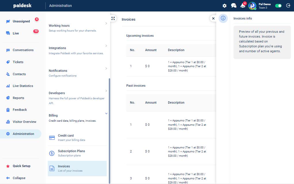 appsumo invoice example
