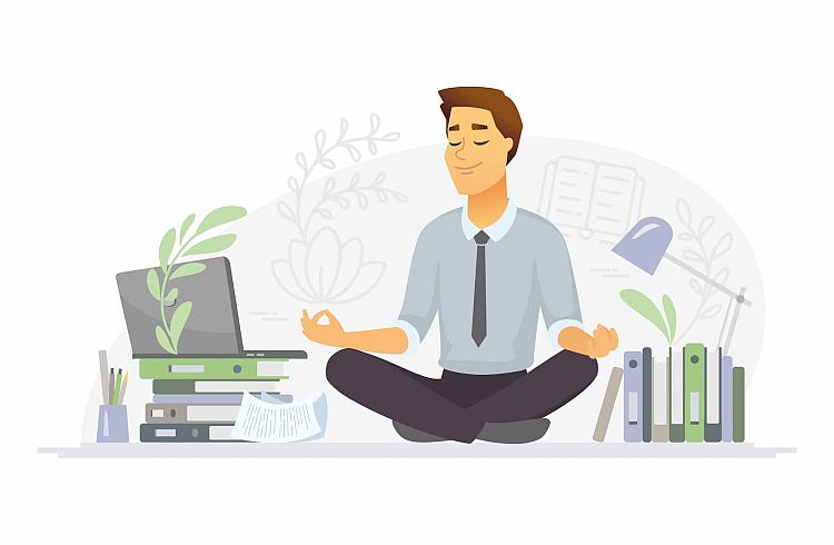 Find balance at work