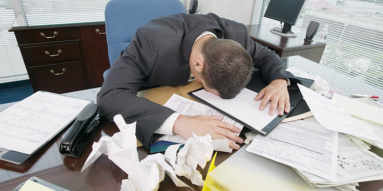 Poor management leads to work stress