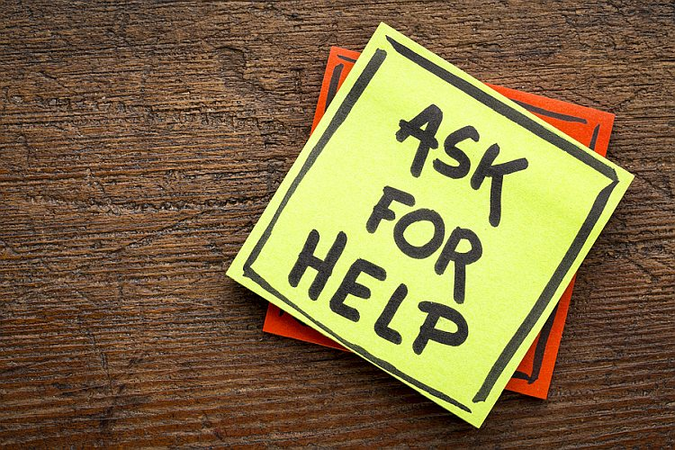 Ask for help when goal setting